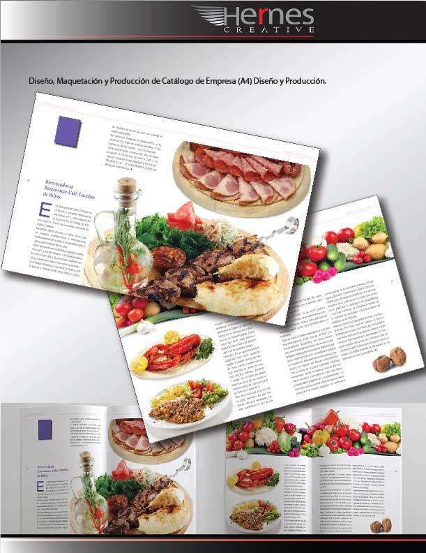 Diseño Editorial y Maquetación, Diseño y Maquetación de Catalogo-de-Empresa