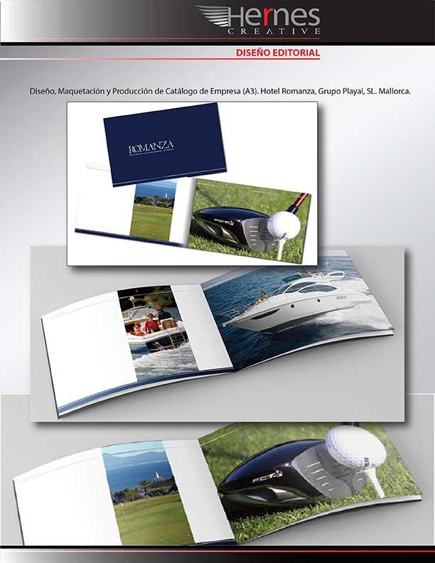 Diseño y Maquetación de Catálogos, Presentación-Portfolio