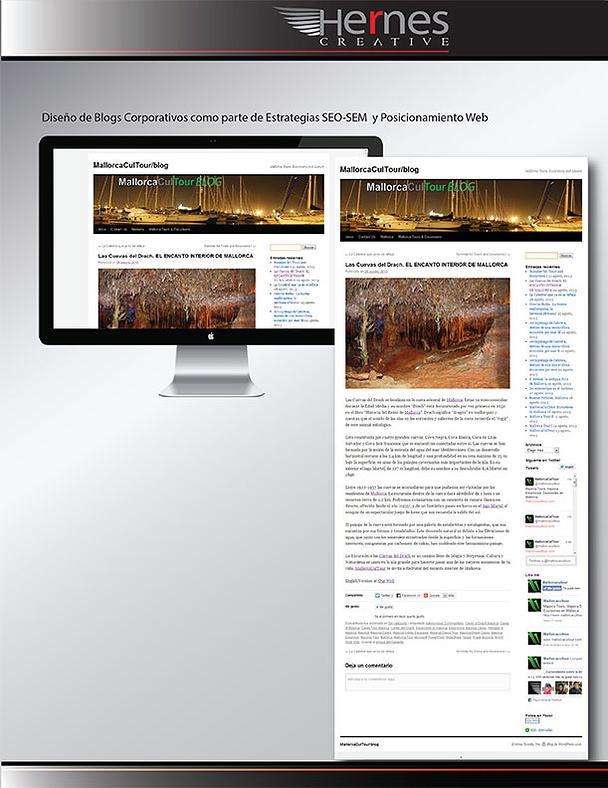 Diseño de Blog Corporativo